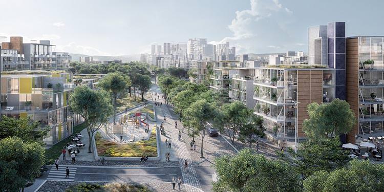 Madrid nuevo norte avenidas y parques