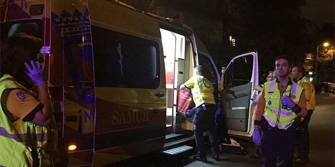 Apuñalamiento Villaverde Ambulancia Samur-PC