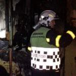 Treinta heridos tras un incendio en una vivienda de Pozuelo