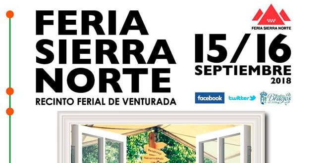 Feria Sierra Norte 2018 Cartel