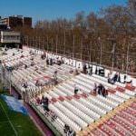 El Estadio del Rayo Vallecano reabre al público