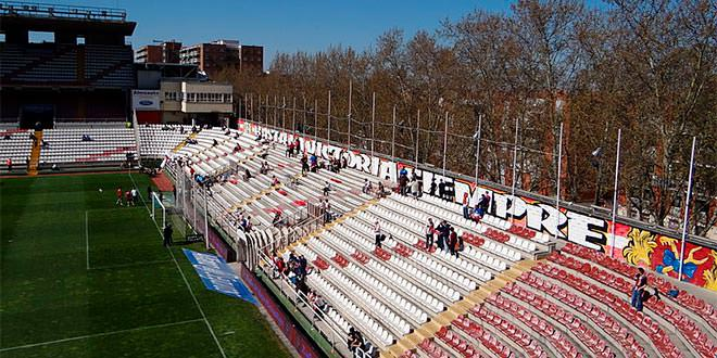 Rayo Vallecano Estadio Vallecas Interior