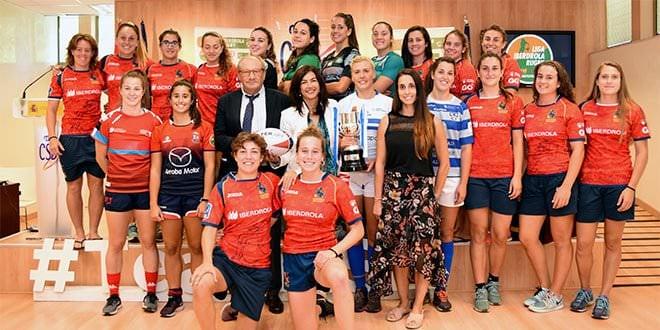 Liga Iberdrola Rugby Femenino Presentación