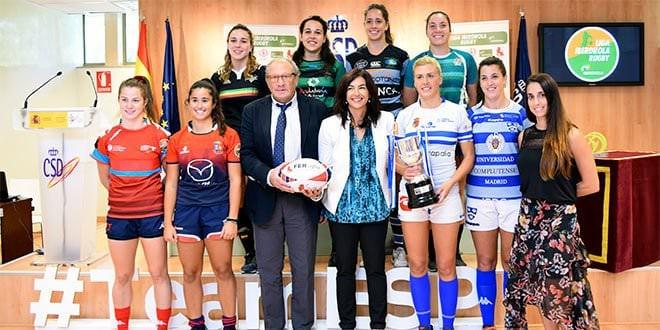 Liga Iberdrola Rugby Femenino Presentación Liga