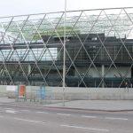 Un nuevo edificio sostenible de acero y cristal en la plaza de Colón