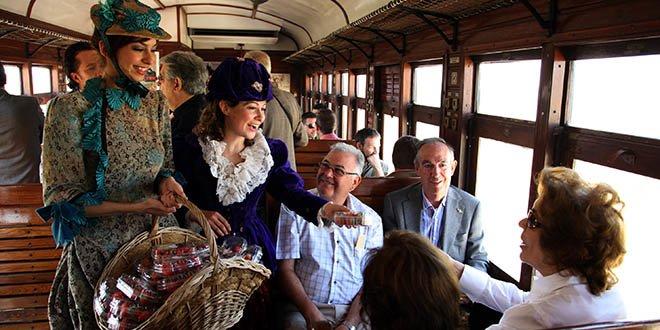 tren de la fresa teatralizado
