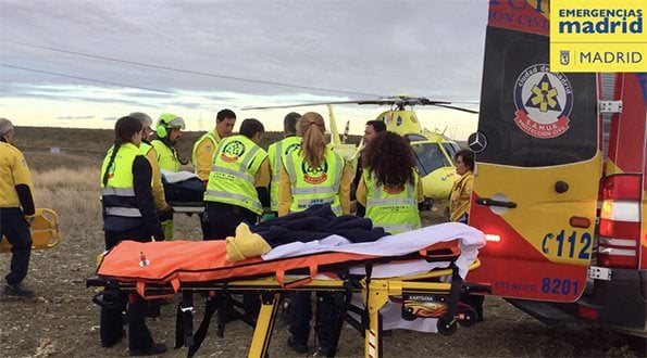 SUMMA 112 Accidente Motocross
