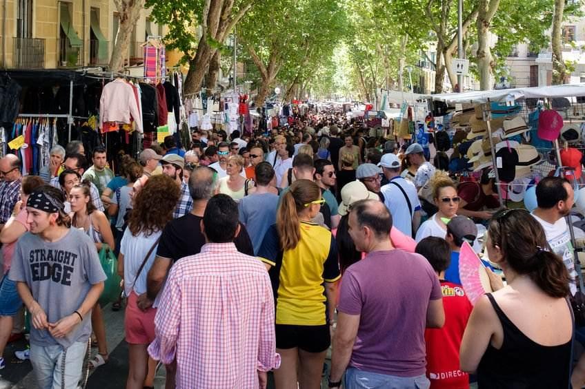Foto del Rastro de Madrid