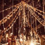 Los japoneses Circo de Sastre y su espectáculo de telas, música y magia
