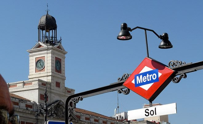centenario metro linea 1 Sol