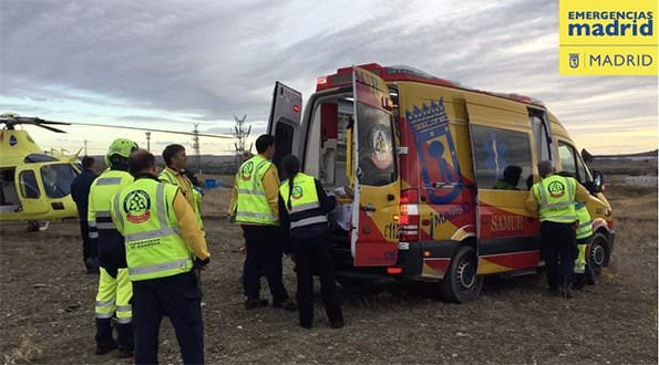 Ambulancia Samur Accidente Motocross