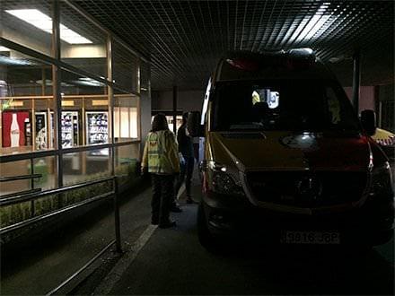 Apuñalamiento San Blas Ambulancia Samur