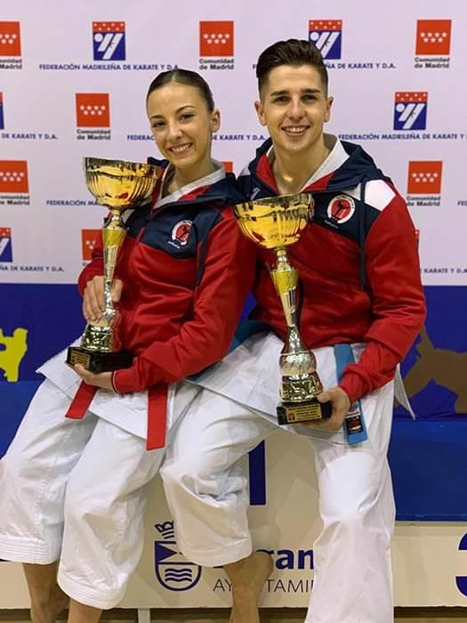 Sergio Galán y Lidia Rodríguez