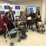 360 mayores participan en un concurso de tarjetas de Navidad