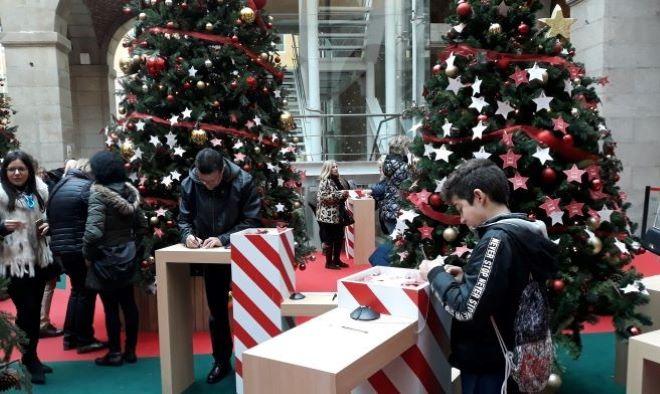 bosque deseos navidad real casa correos
