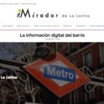 Nace El Mirador de La Latina, información 'online' sobre el popular barrio madrileño