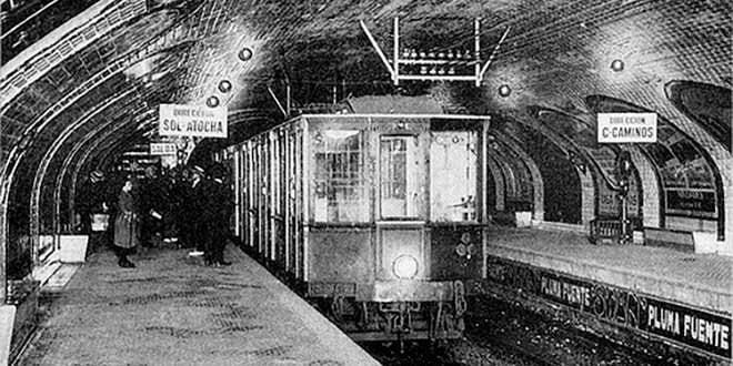 Centenario Metro de Madrid Ciclo de Cine
