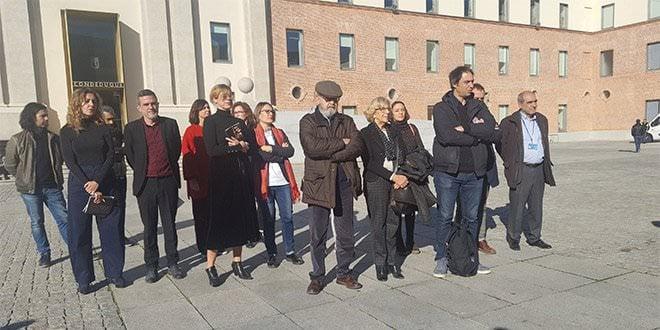 Minuto de Silencio Violencia de Género Ayuntamiento de Madrid
