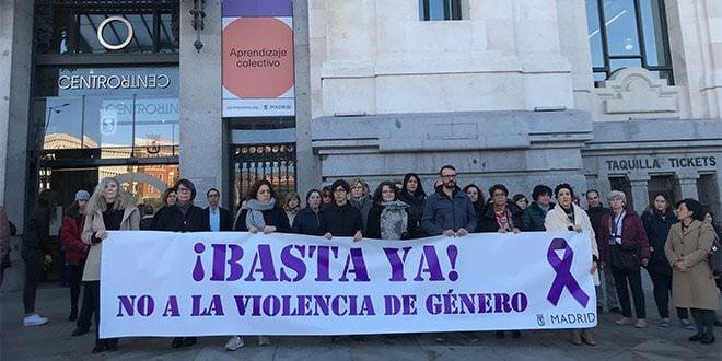 Minuto de Silencio Violencia de Género Concentración Ayuntamiento