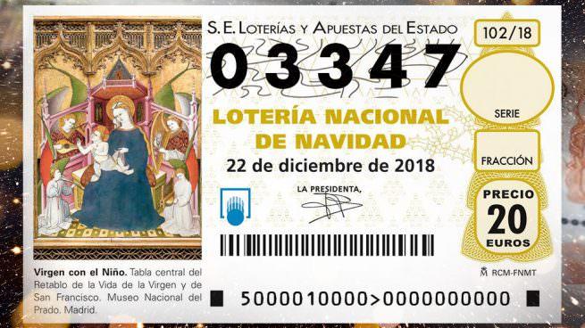 primer premio lotería 2018