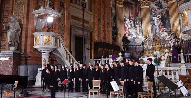 san francisco el grande concierto navidad coro