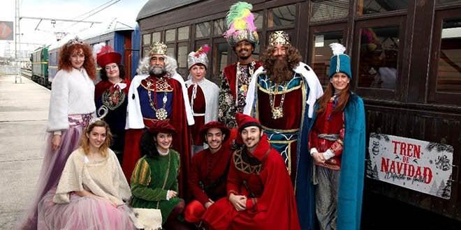 tren de la navidad madrid