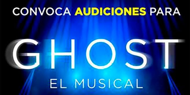 Audiciones Ghost Madrid Cartel