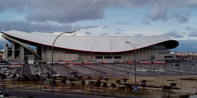Wanda Metropolitano enero 2019