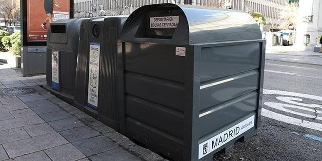 contenedores ropa usada