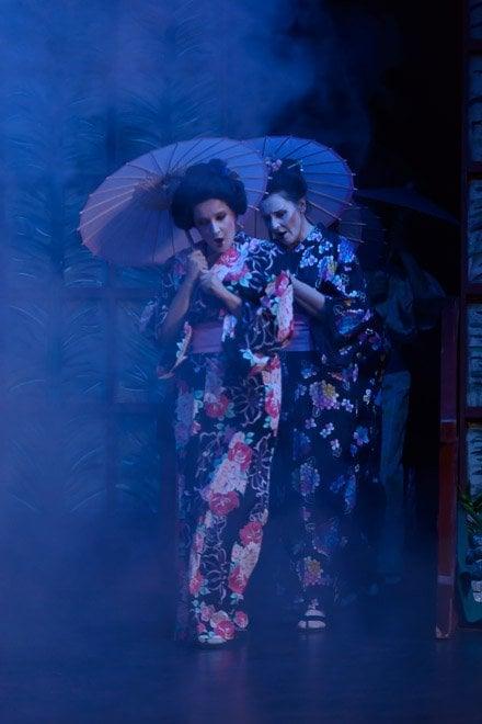 Madama butterfly geishas