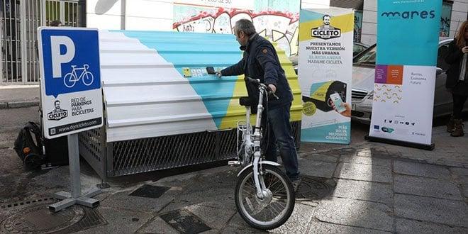 bicihangar aparcamiento bicicletas calatrava
