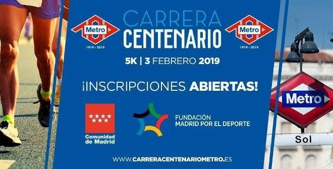 carrera centenario metro