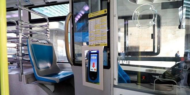 EMT pago autobús tarjeta móvil