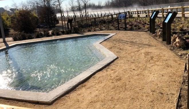 lago parque lineal manzanares