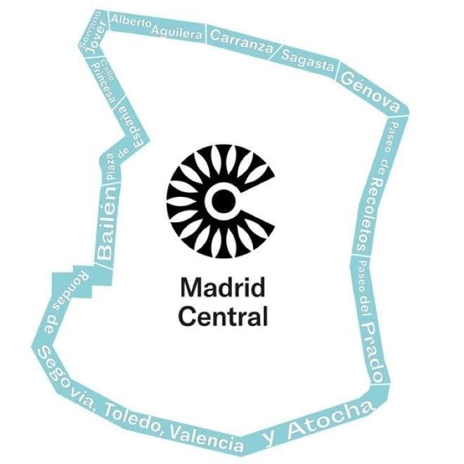 madrid central plano