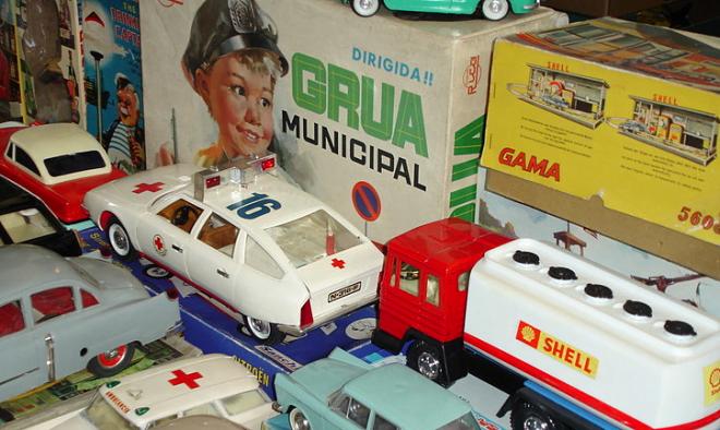 mercado de juguete de colección