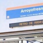La estación de Metro de Arroyofresno abre el sábado 23 de marzo