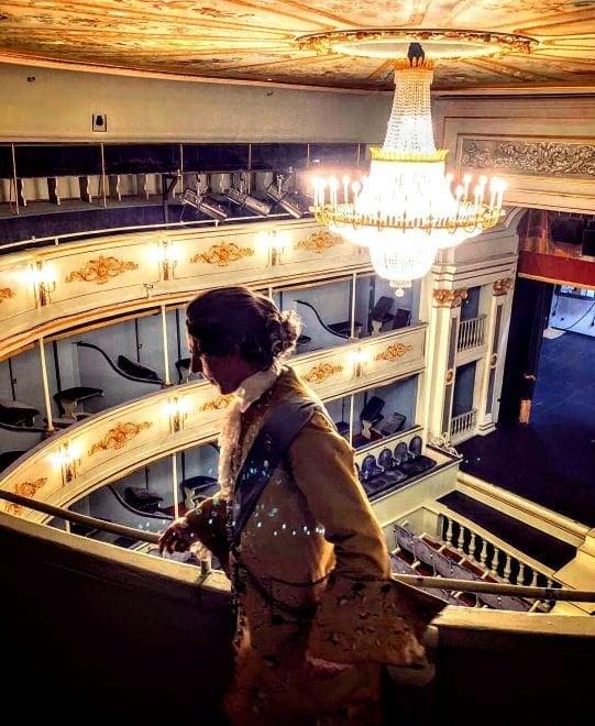 Visitas teatralizadas Real Coliseo Carlos III