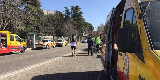 Parada Cardiorespiratoria Media Maratón Moncloa