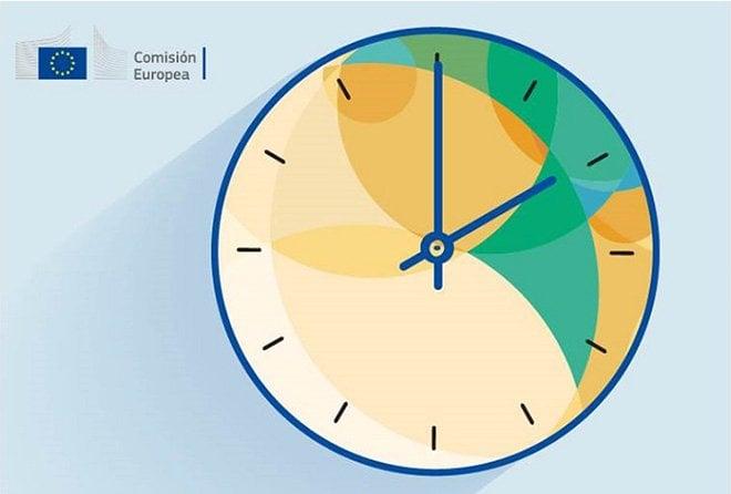 cambio hora reloj