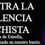 Concentración en memoria de la mujer asesinada en Ciudad Lineal