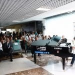 Microconciertos con piano de cola en el Hospital La Paz