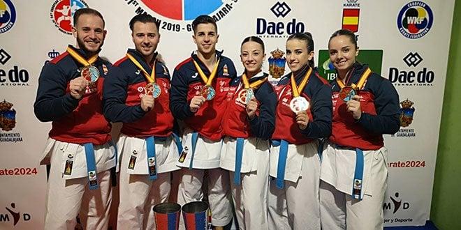 Equipos de kata campeones de Europa