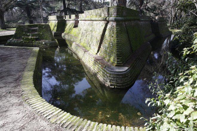 Casa del Artillero en el parque de El capricho
