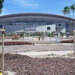 Inaugurados los nuevos jardines frente al Wanda Metropolitano