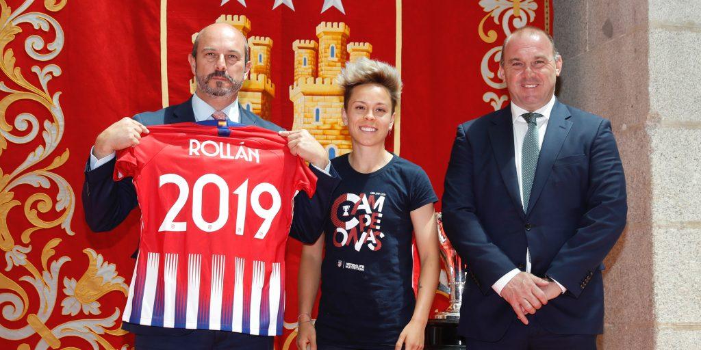 Atlético de Madrid Rollán