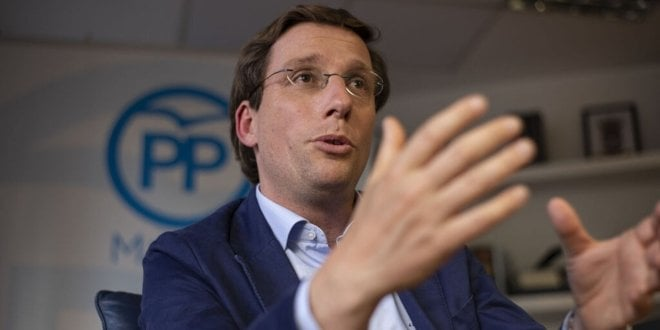 Martinez Almeida candidato partido popular