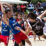 El Campeonato de España de balonmano playa vuelve a Getafe