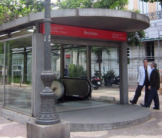 estacion recoletos renfe cierre tunel recoletos
