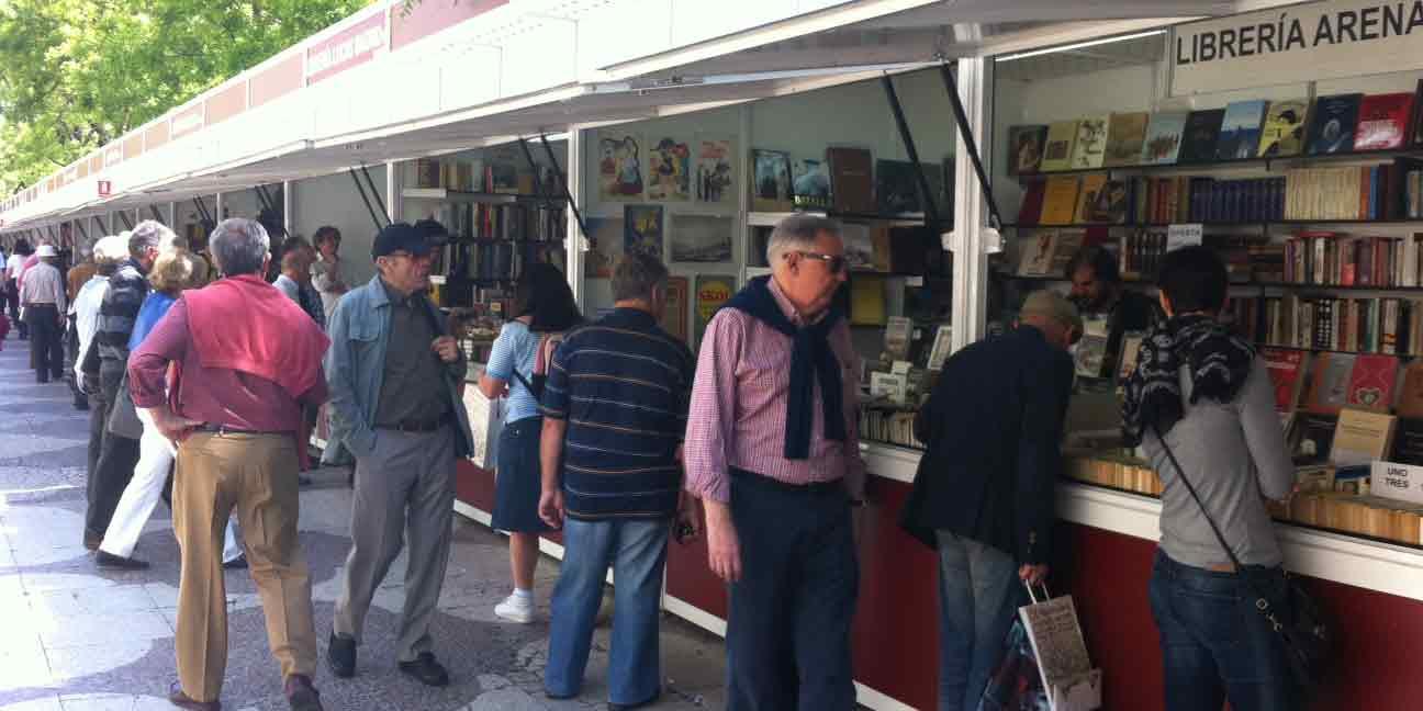 Feria del Libro Antiguo en Recoletos